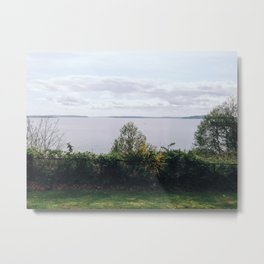 Lake Lookout Metal Print