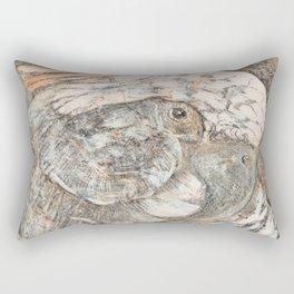 Theo van Hoytema - Kop van een papegaai Rectangular Pillow