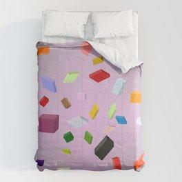 Five Dollar Art - Squares Comforters