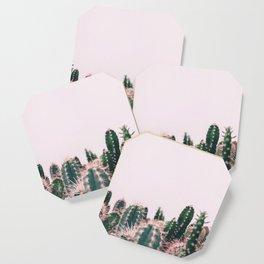 Pink Blush Cactus Coaster