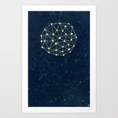 Night Constellation  Art Print