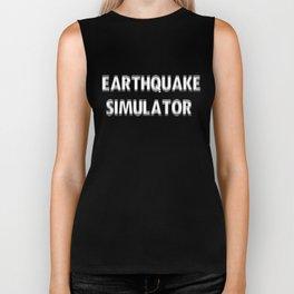 Earthquake Simulator Biker Tank