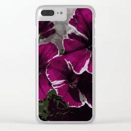 Petunia Clear iPhone Case