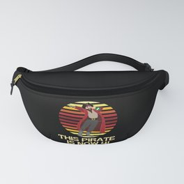 Arr This Pirate Is Now 4   Birthday Boy Fanny Pack