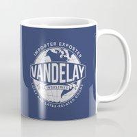 seinfeld Mugs featuring Vandelay Industries - Seinfeld by Donutwrangler