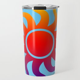 Rainbow Sun Travel Mug