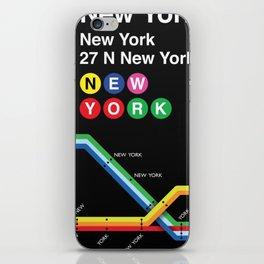 New York, New York iPhone Skin