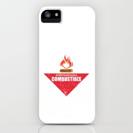 Menopause Old Woman Gift iPhone Case