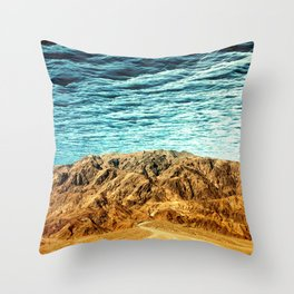 South of No North Throw Pillow