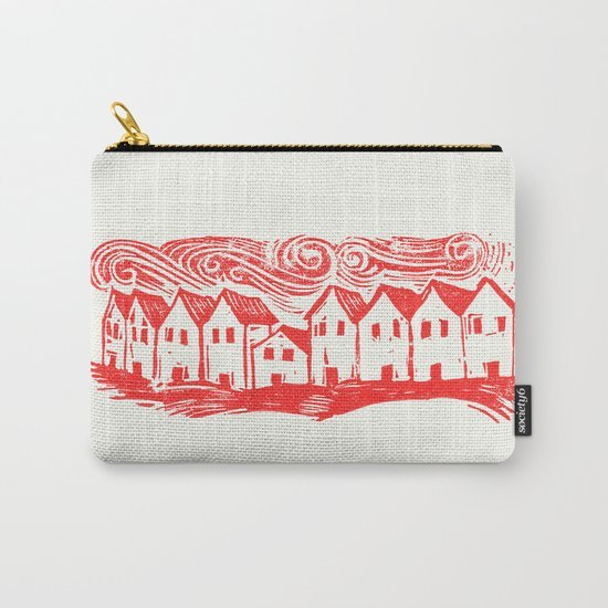 Sad Row (Red) Carry-All Pouch