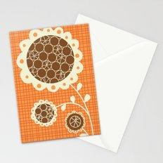 Retro Sunshine Bouquet Stationery Cards