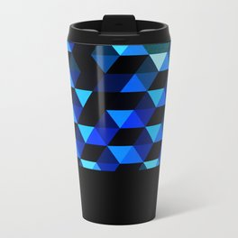 Geometric fire Metal Travel Mug