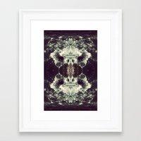 n7 Framed Art Prints featuring N7 by LEGAN ROOSTER85