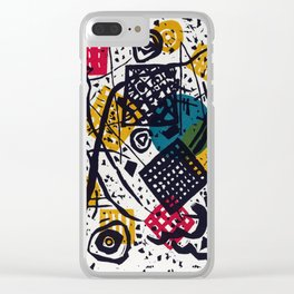Vasily Kandinsky Small Worlds V Clear iPhone Case