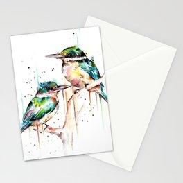 Kingfishers Stationery Cards