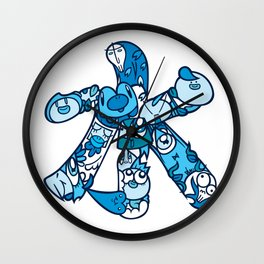 水 - WATER Wall Clock