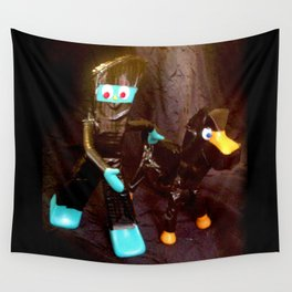 ninja gumby and ninja pokey Wall Tapestry