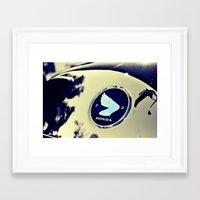 honda Framed Art Prints featuring Honda by Mickey Martin Photography