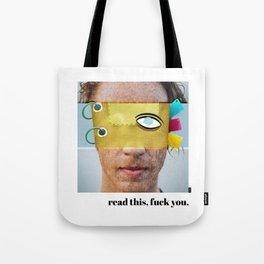Read This, Yuck Fou Tote Bag