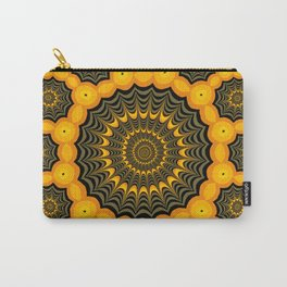 Spider webs, Halloween fractal art Carry-All Pouch