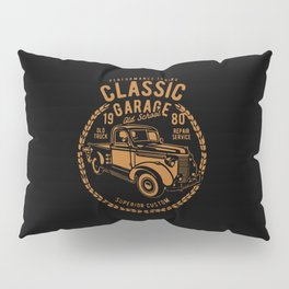 classic garage Pillow Sham