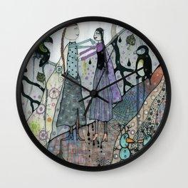 """""""Elsa & Anna"""" Wall Clock"""