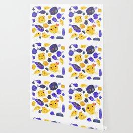 Boxfish - black Wallpaper