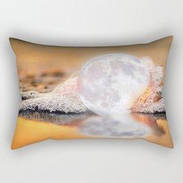 The Rare Pearl Moon Rectangular Pillow