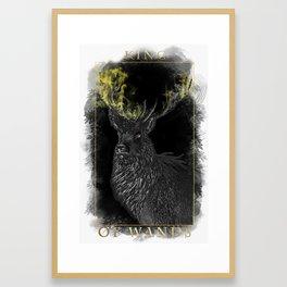 King of Wands Framed Art Print