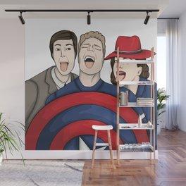 Team Carter Wall Mural