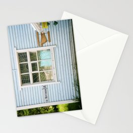 A Village House in Russian Karelia Stationery Cards