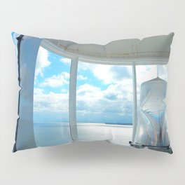 Souris Lighthouse View from the Top Pillow Sham