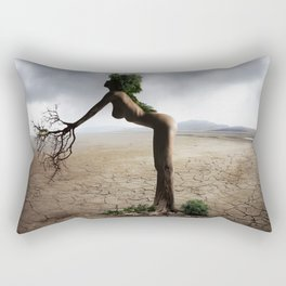 Natural Woman Rectangular Pillow