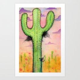 Cactipits Art Print