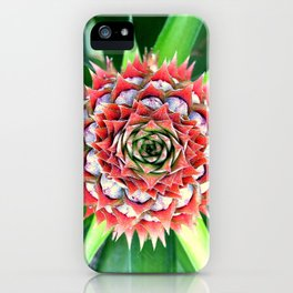 Young Pineapple iPhone Case