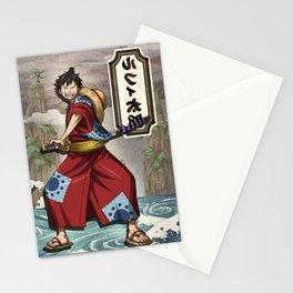 Lufy wano - one piece Stationery Cards