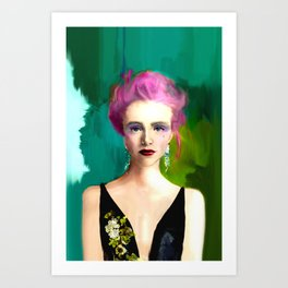 Bolder Beauty Art Print