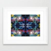 big bang Framed Art Prints featuring Big Bang by  Alexia Miles photography