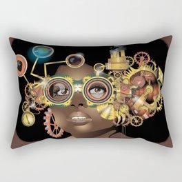 Steamfunk Rectangular Pillow