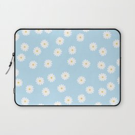 Sky Blue Flowers Laptop Sleeve