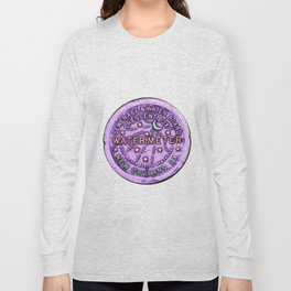 New Orleans Mardi Gras NOLA Water Meter Long Sleeve T-shirt