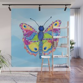 Butterfly II on a Summer Day Wall Mural