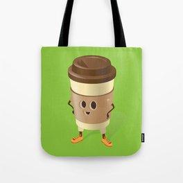 Happy Coffee Tote Bag