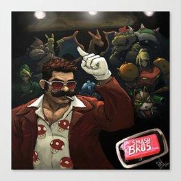 Smash Bros x FC mashup Canvas Print