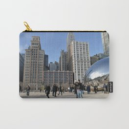 Chicago Bean in the winter Carry-All Pouch