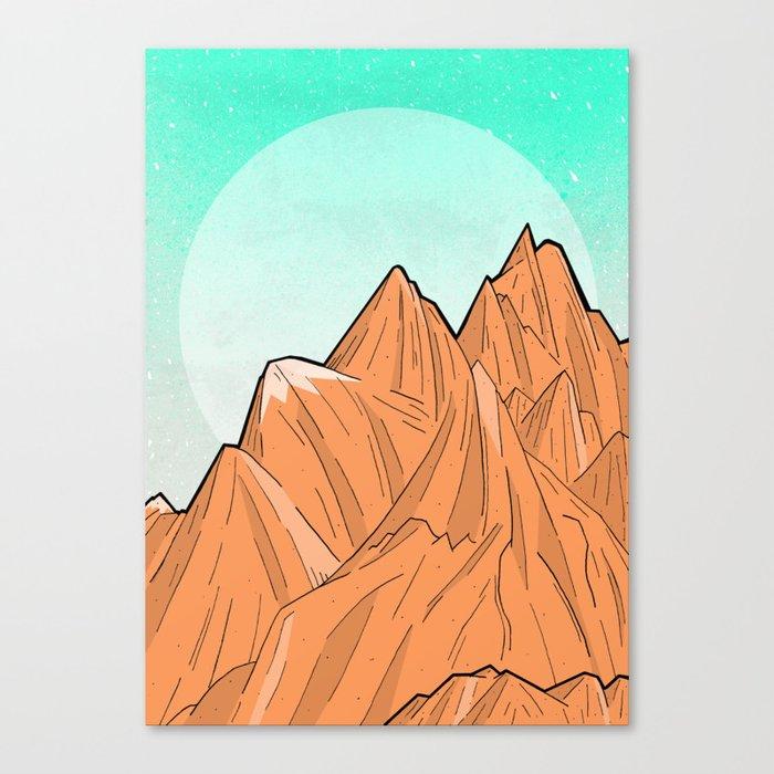 Sand Mountain Canvas Print
