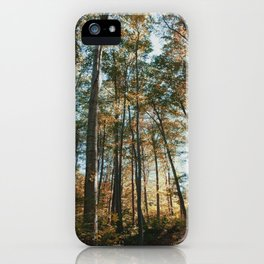 into the woods 08 iPhone Case