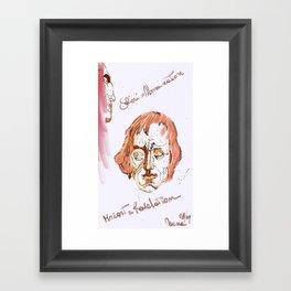 Mozart & Salieri Framed Art Print