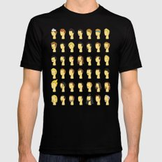 Nic's Wig Collection Black MEDIUM Mens Fitted Tee