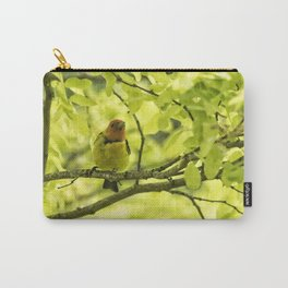 Male Western Tanager, No. 2 Carry-All Pouch